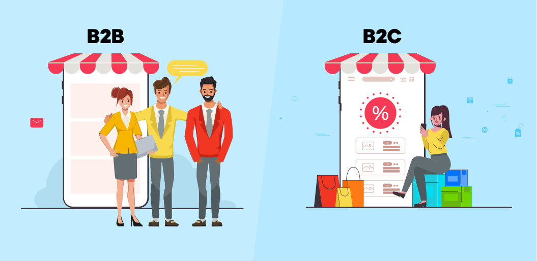 Difference between B2B and B2C eCommerce websites