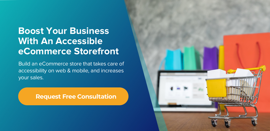 contact net solutions to build an accessible ecommerce storefront