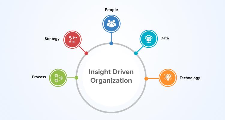 data-driven organization components