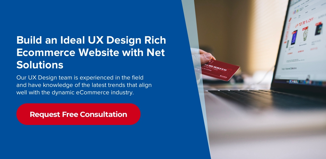 eCommerce UX Design Practices to Increase CX