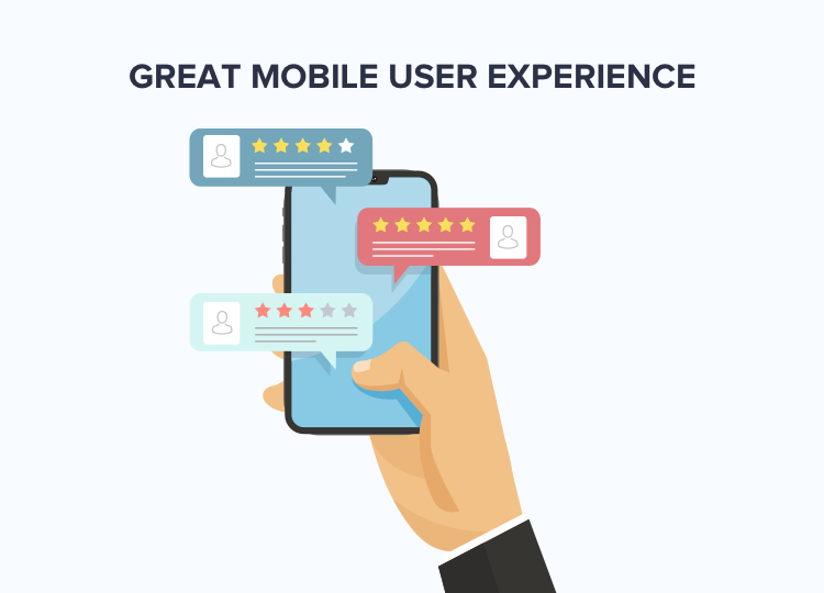 mobile app user experience leads to great reviews and more profits down the line