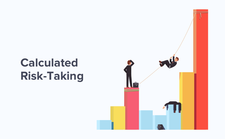 calculated risk-tking is important for successful digital transformation