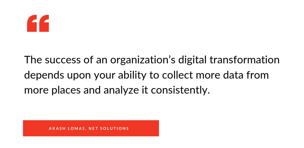 digital transformation success depends upon data too