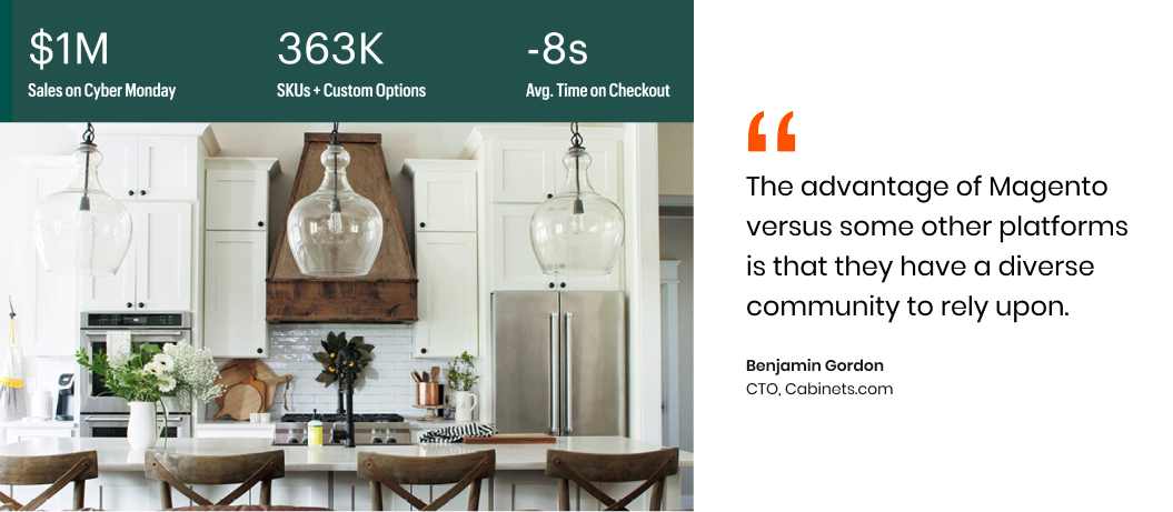 Cabinets.com' successful journey with Magento 2
