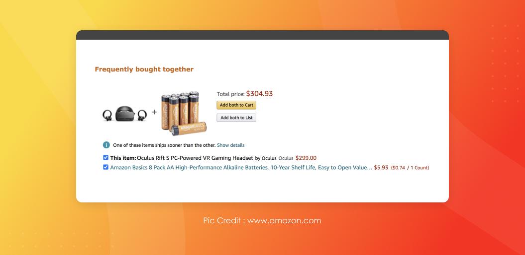 Amazon User Engagement Techniques | Recommendation Engine