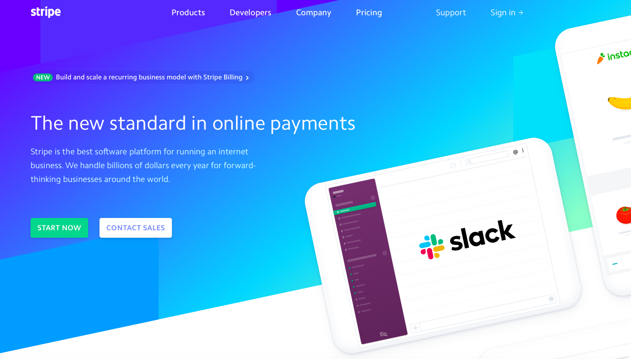 Stripe is a top payment gateway