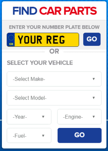 Euro Car Parts lets you find auto parts through just entering the reg no of your vehicle