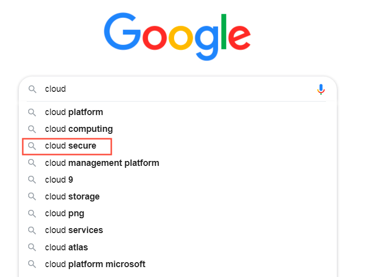 cloud security concerns