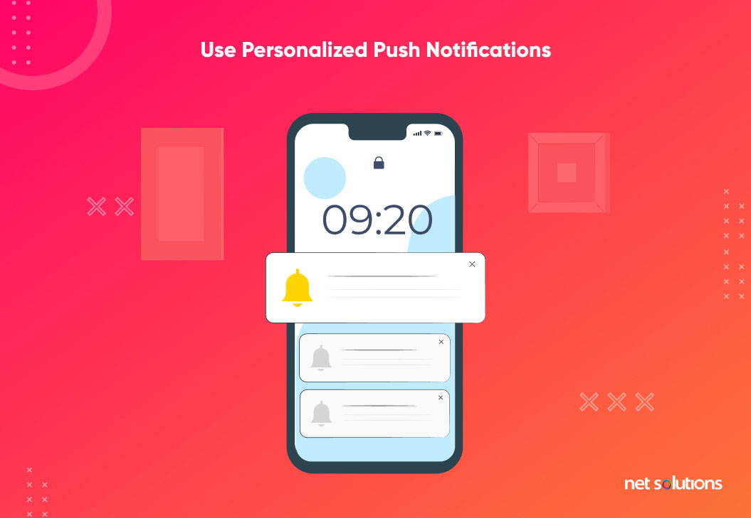 use personalized user notifications