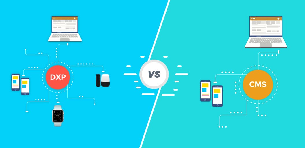 CMS vs DXP How DXP Evolved from CMS to Deliver a Seamless Digital Experience