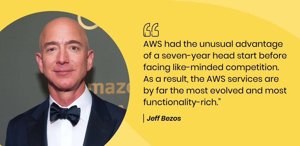 Jeff Bezos on AWS
