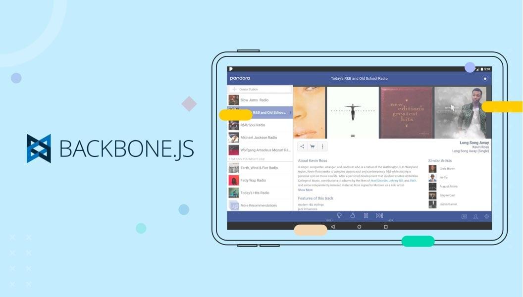 Single Page Application Framework Backbone JS