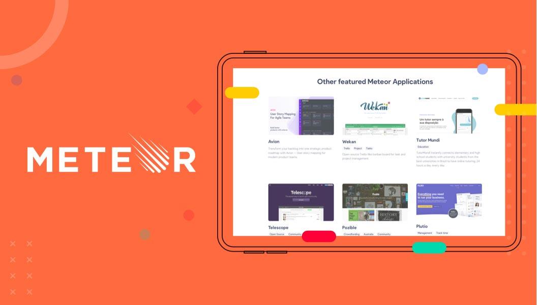 Single Page Application Framework Meteor JS