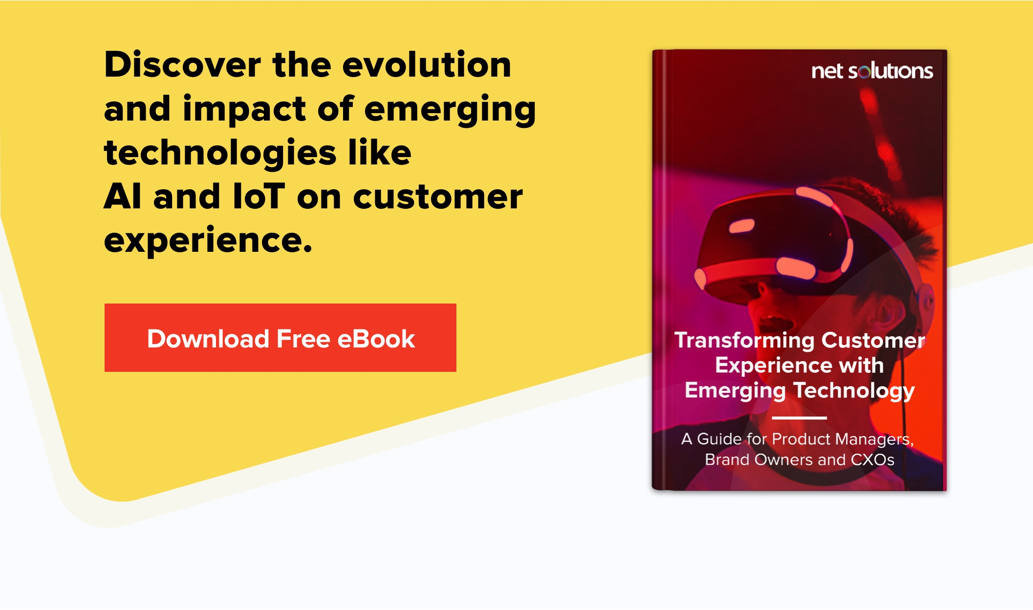 Download eBook Transforming Customer Experience With Emerging Technologies
