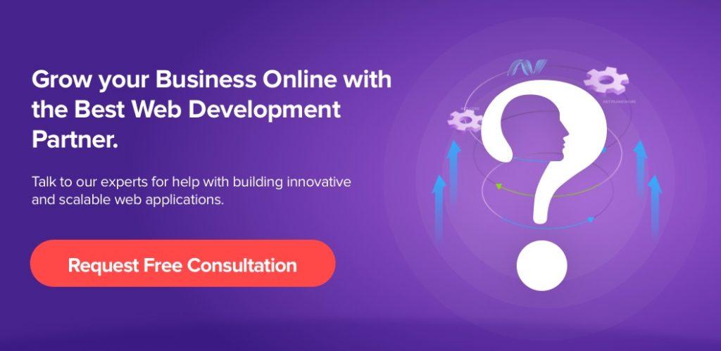 Contact Net Solutions for .NET application development