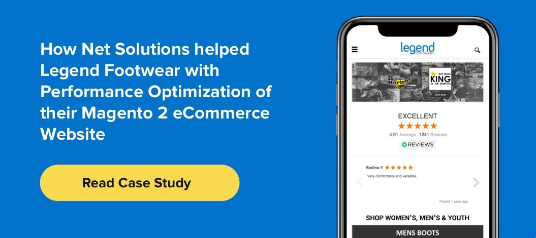 This is how Net Solutions helped Legend Footwear optimize their Magento 2 platform