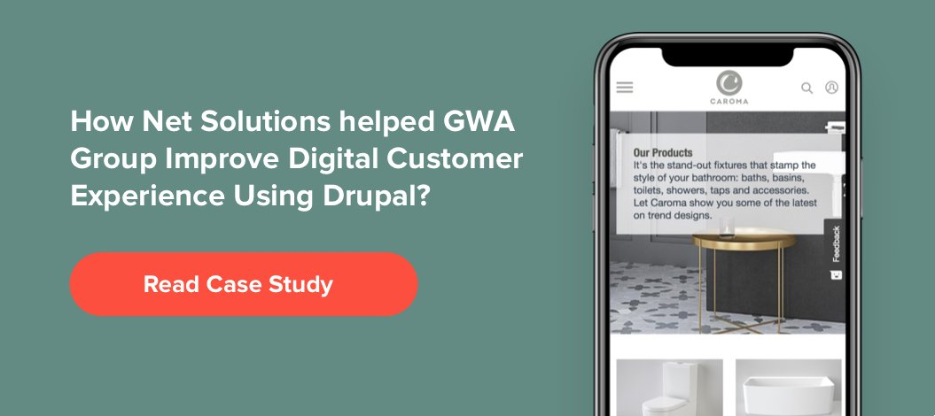 How Net Solutions helped its client to deliver good digital experience with Drupal