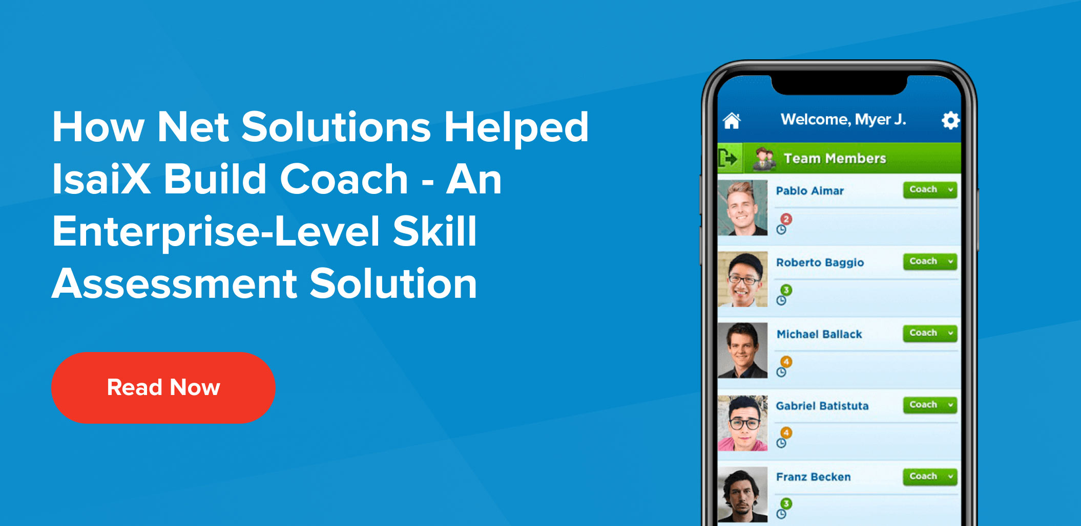 How Net Solutions helped build Coach, a skill assessment solution - Case Study