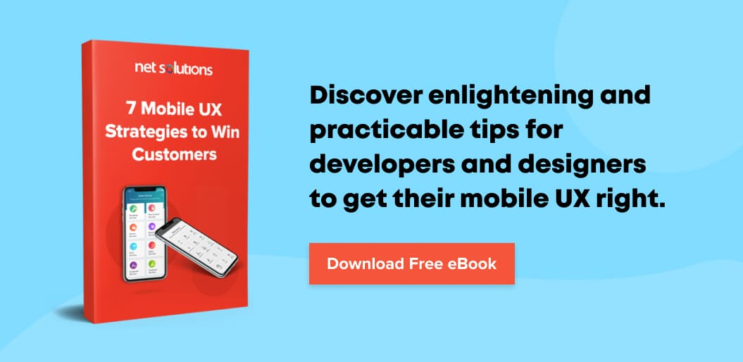 Download the eBook to get the mobile UX right