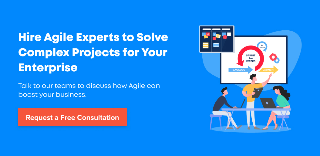 Contact Net Solutions for help with building agile-driven products