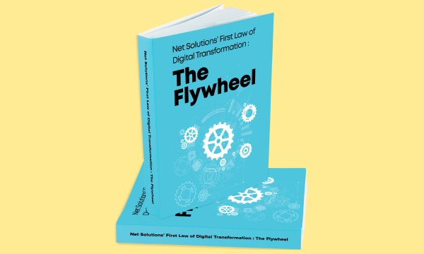 Net Solutions First Law of Digital Transformation The Flywheel