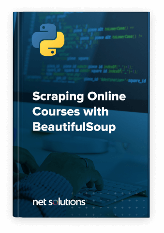 Scrapping Online Courses with BeautifulSoup