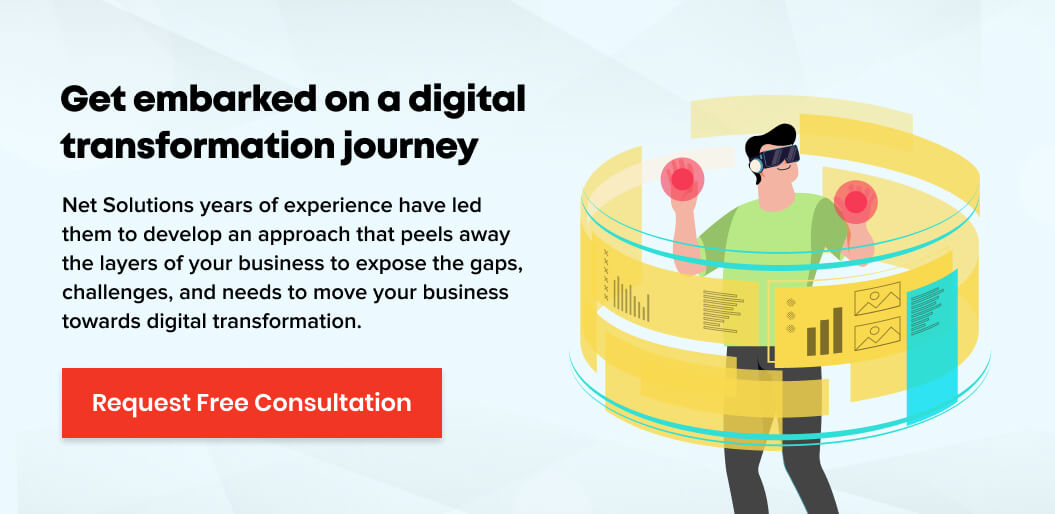 Request a consultation to embrak on a digital transformation journey