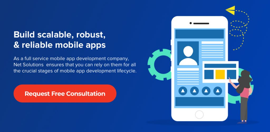 Contact Net Solutions for Mobile App Development