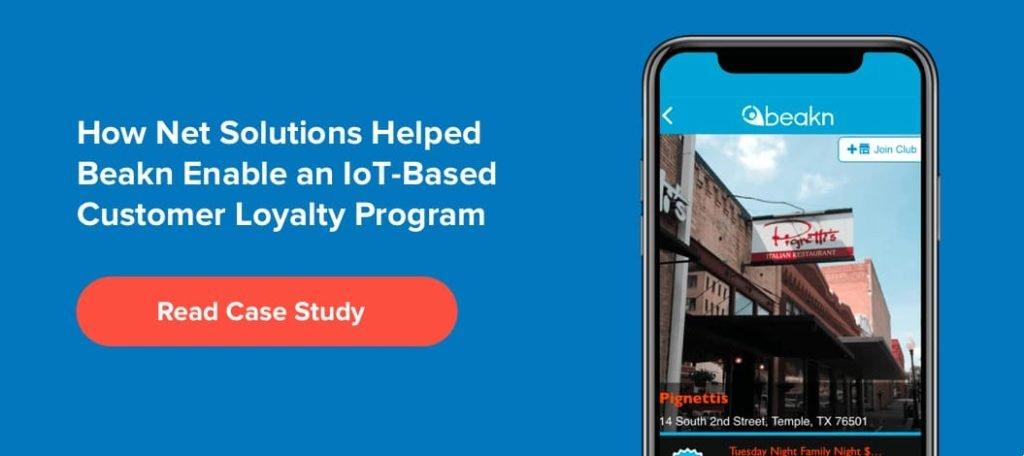 How Net Solutions Helped Beakn Enable an IoT-Based Customer Loyalty Program