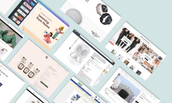 Top Winning eCommerce Website Designs