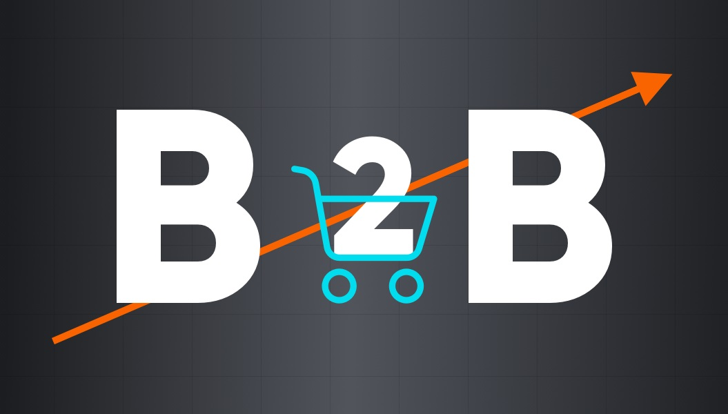 Rise of B2B eCommerce graphic | 2021 eCommerce Trends