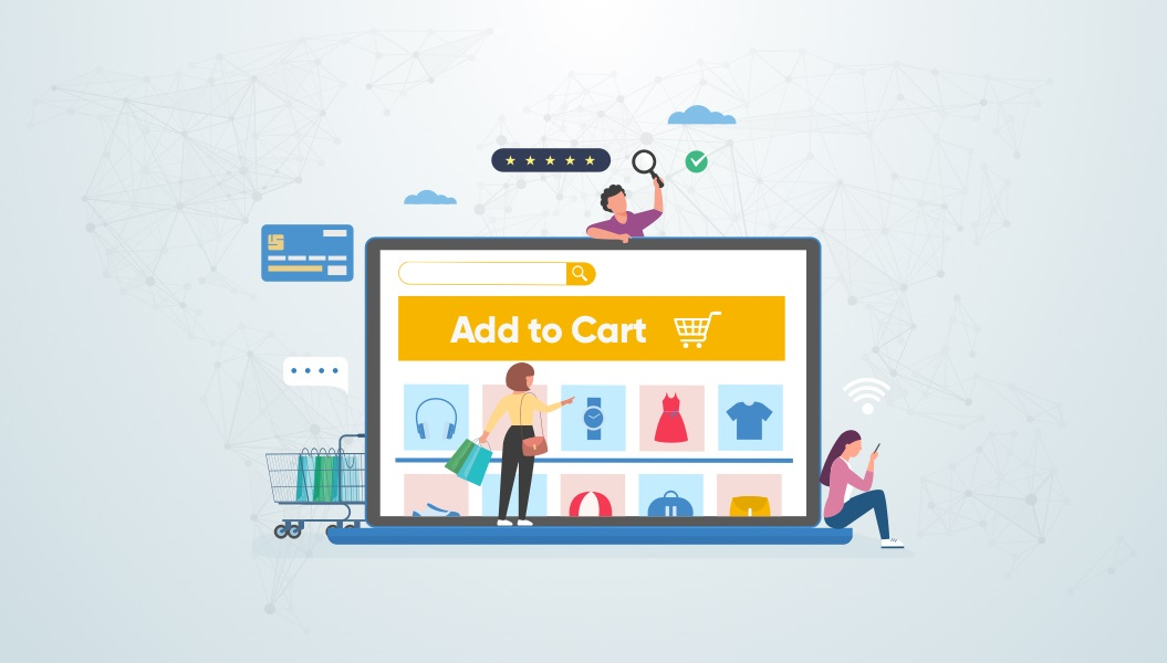 Global consumer base online shopping graphic | 2021 eCommerce Trends