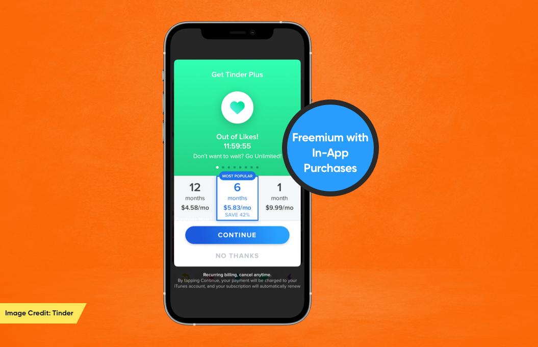 Freemium with In-App Purchases