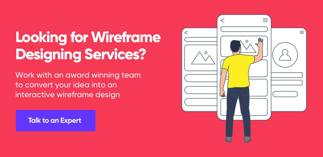 Contact Net Solutions for Wireframe Designing Services