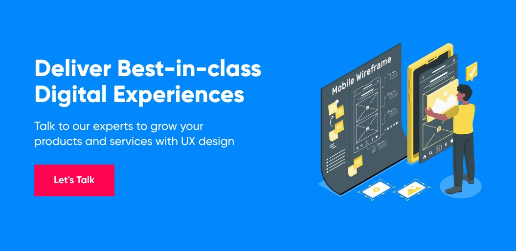 Contact Net Solutions to grow Your Products and Services with UX Design