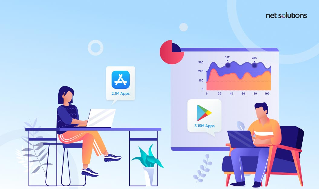Number of Apps in App Store and Play Store | Android vs iOS