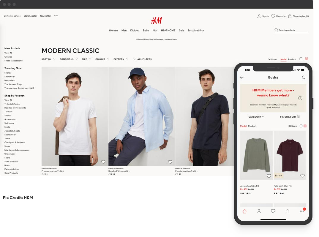 Develop a Mobile eCommerce App To Match Your Website | eCommerce Website Design