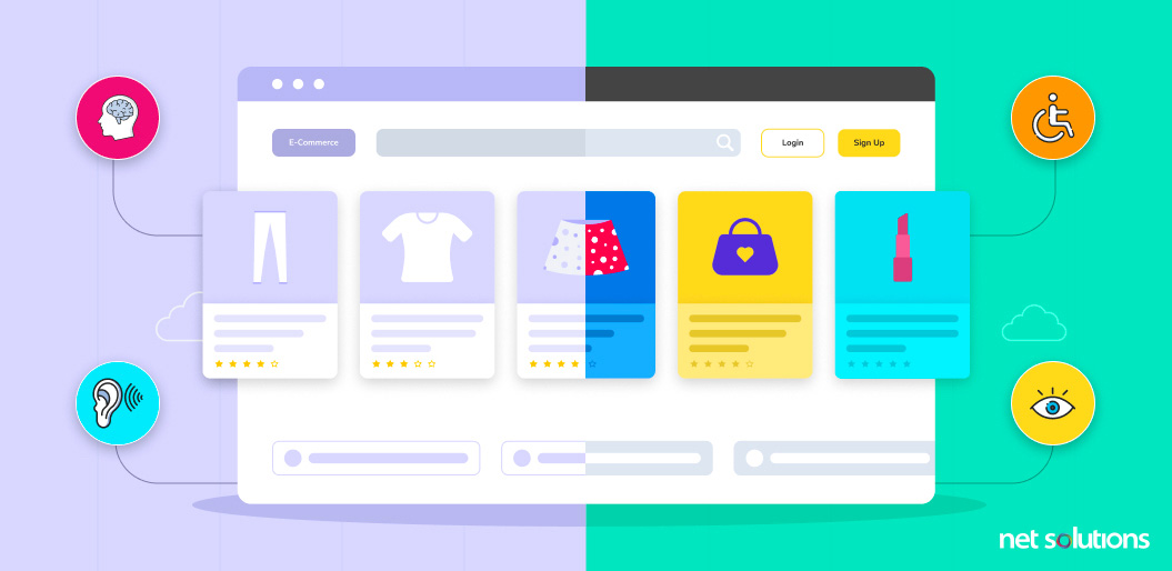 Increased Web Accessibility | eCommerce Website Design