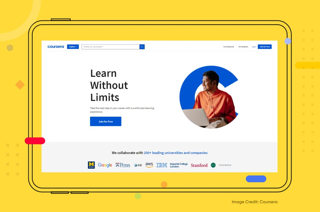Coursera Example of Machine Learning in Education