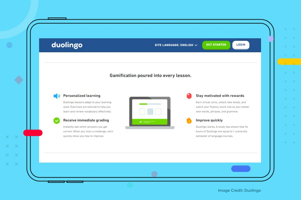 DuoLingo Example for Machine Learning in Education
