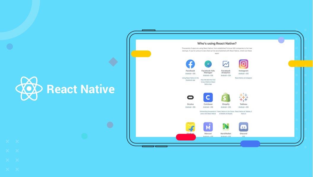 Single Page Application Framework React Native