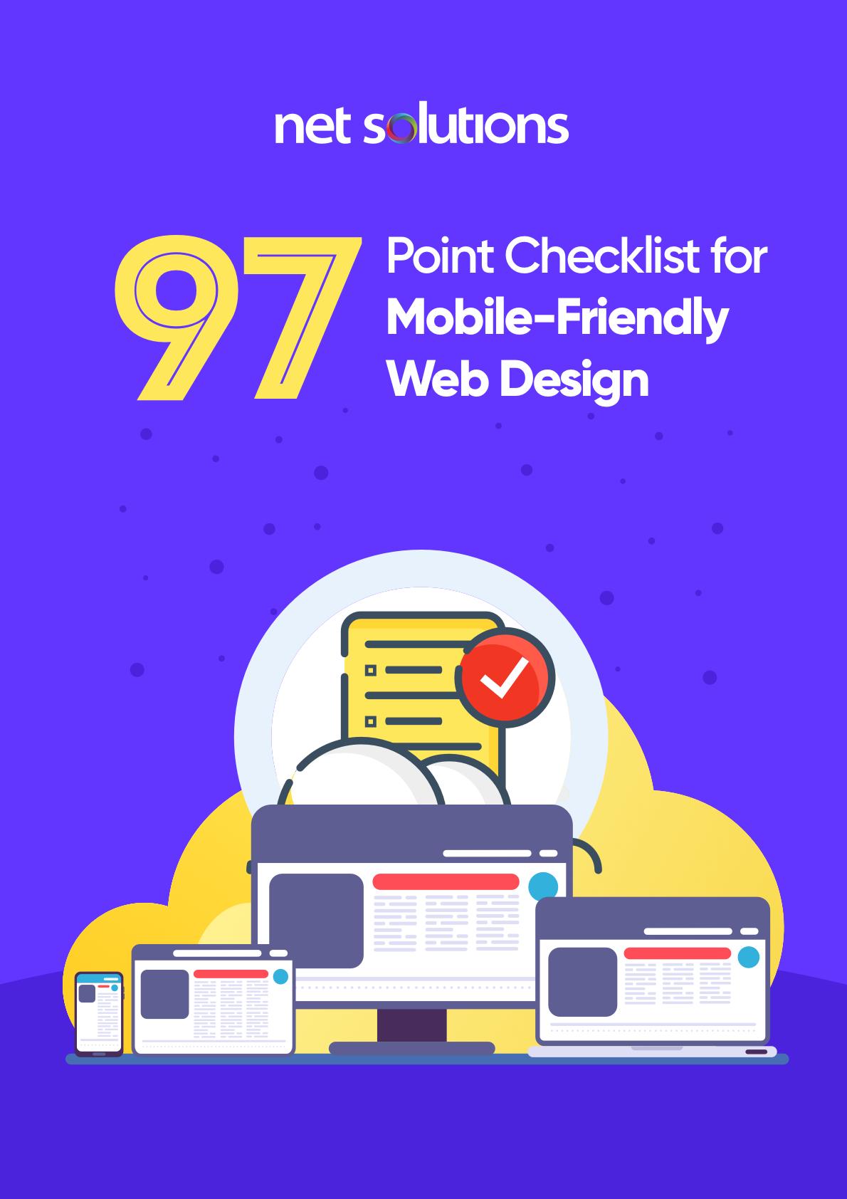 97 Point Checklist for Mobile Friendly Web Design
