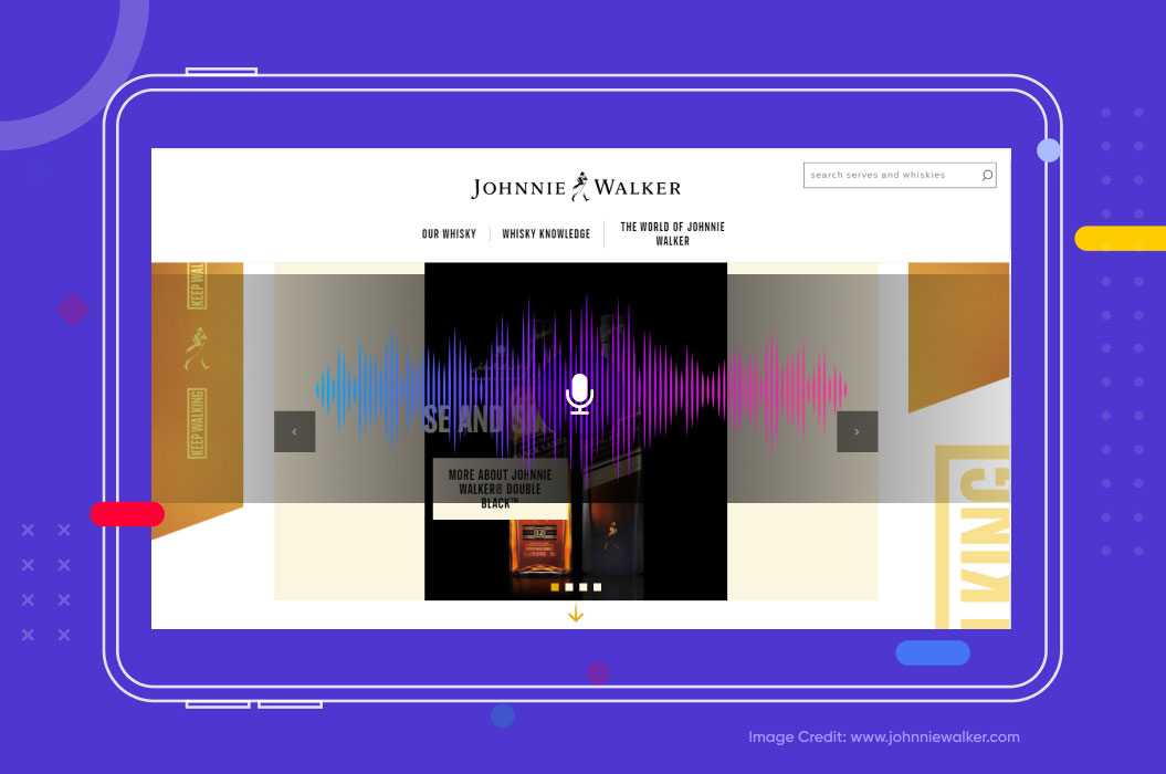 johnnie walker uses voice search technology to boost engagement