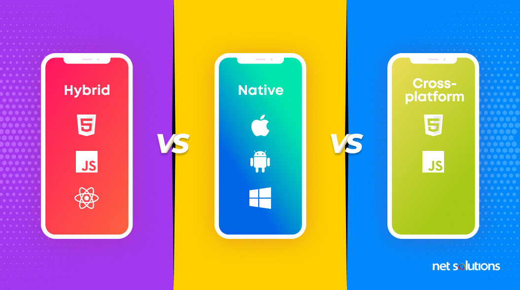 native vs hybrid vs cross platform app development