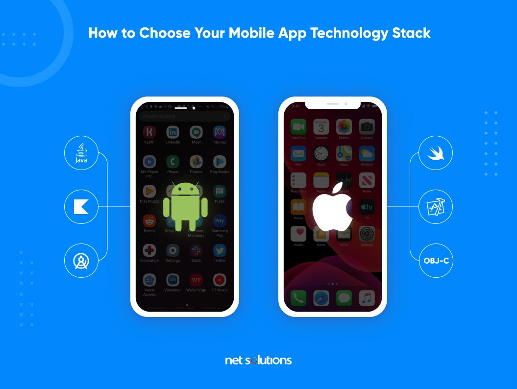 how to choose your mobile app technology stack