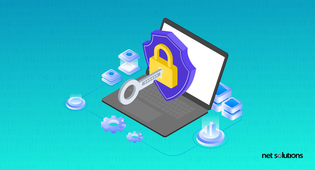 what are the app development company's data security standards