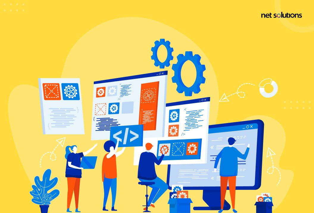 custom software development with net solutions