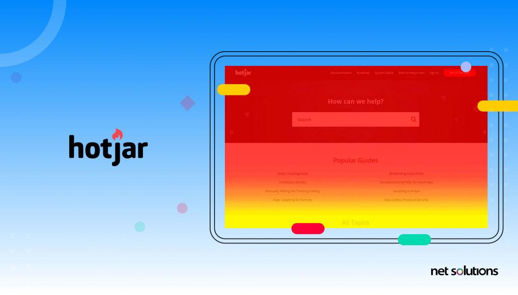 hotjar - ux research tool example