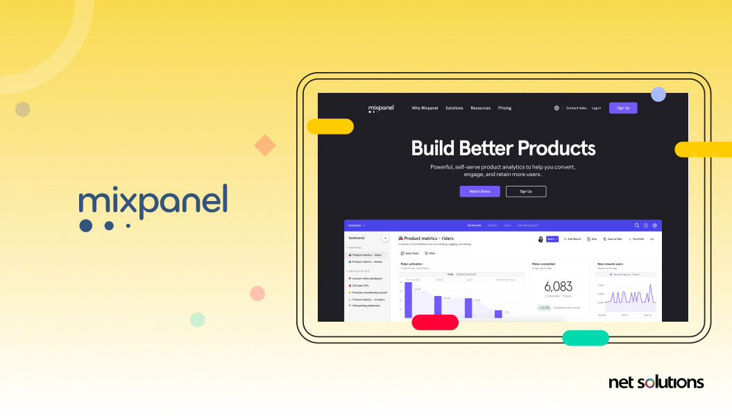 mixpanel - ux research tool example