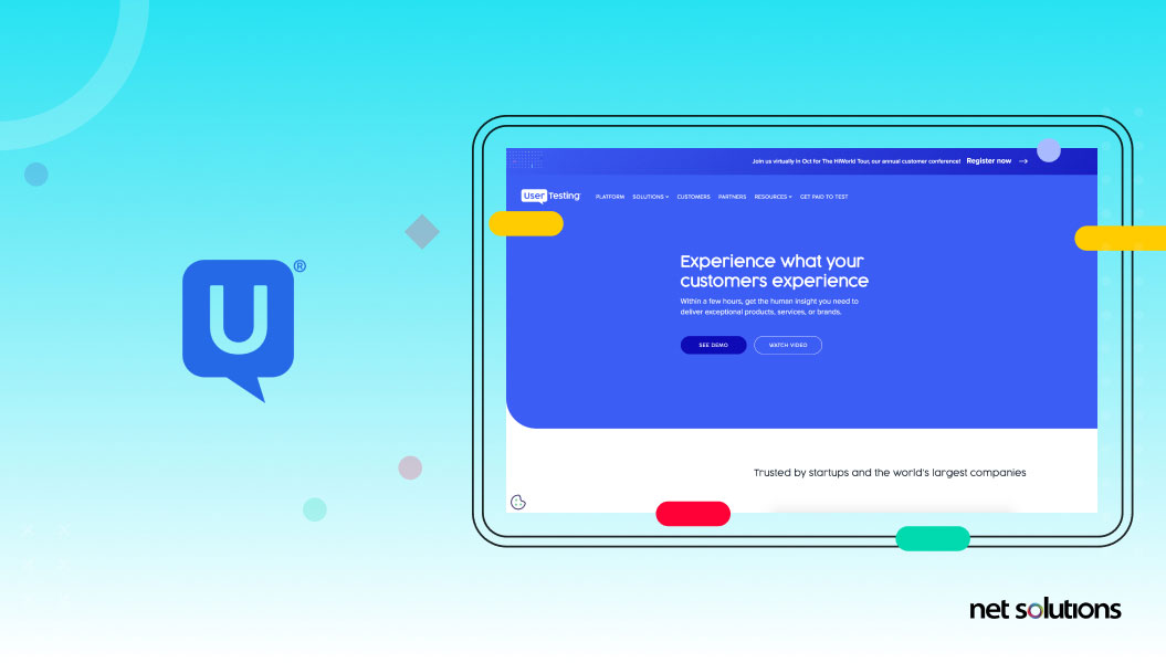 usertesting - ux research tool example